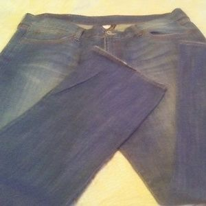 LUCKY BRAND WOMEN'S PLUS SIZE JEANS SIZE 22